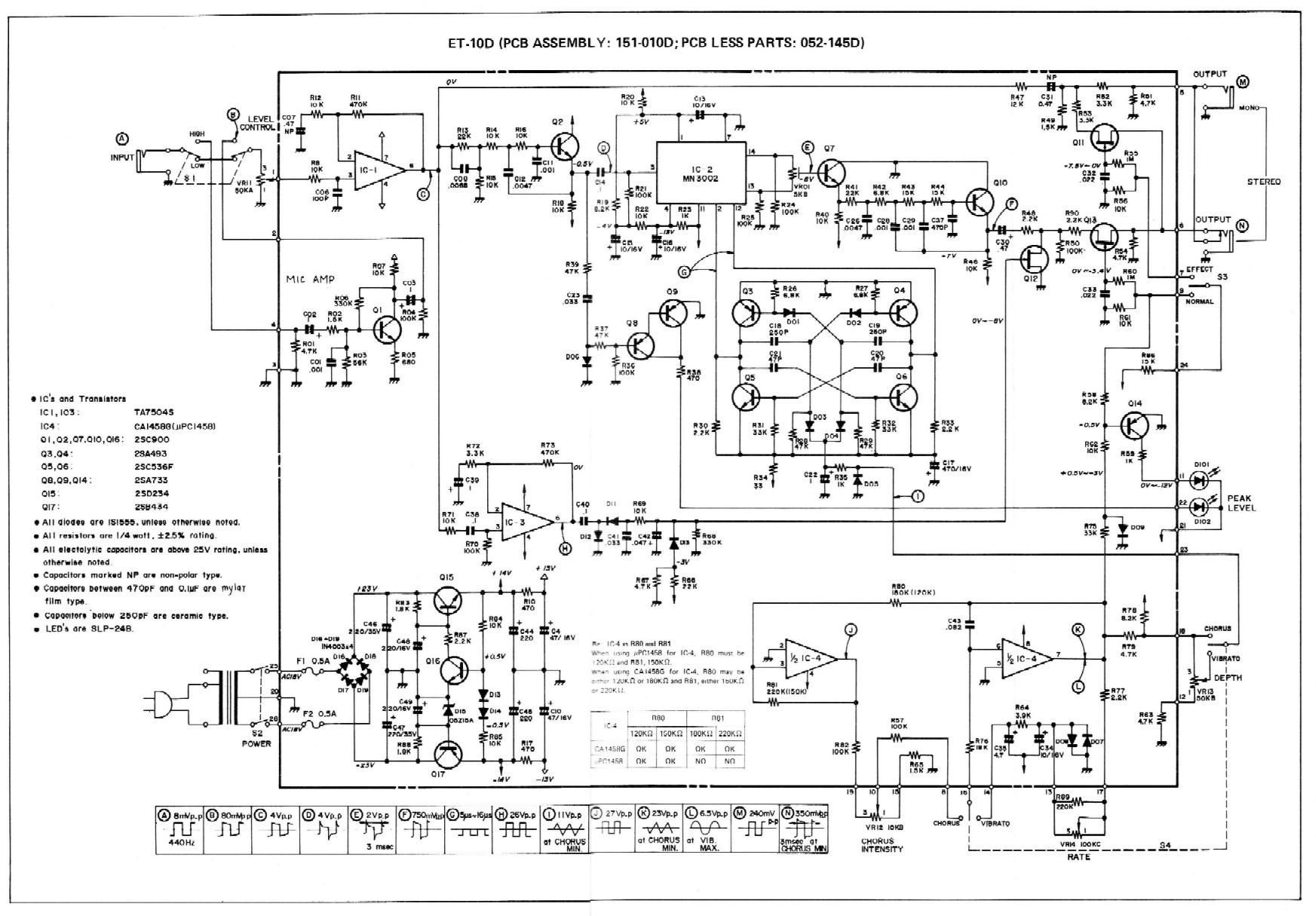 Boss-CE1-Schematic