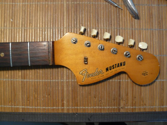 IT-11 Audio restauration Fender Mustang 1