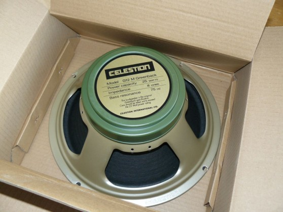 Celestion Greenback Blues Junior