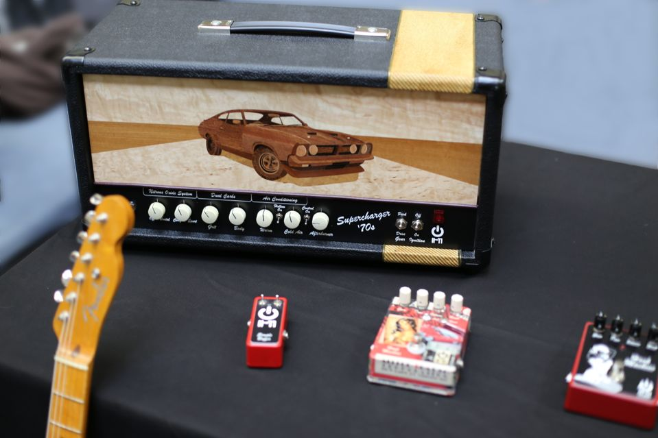 Supercharger '70s Black